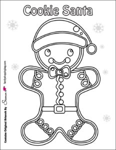 coloring Page 4 Christmas