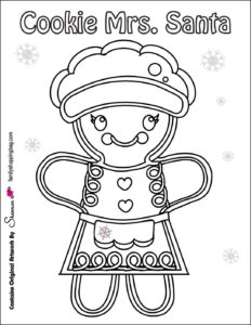 coloring Page 5 Christmas