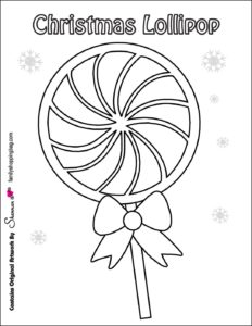 coloring Page 7 Christmas
