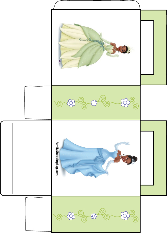 Favor Box Frog Princess 3