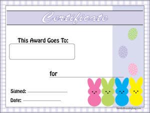 Award Peeps