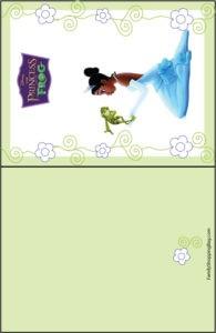 Invitation 1 Princess Frog