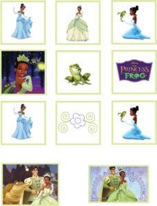 Stickers Princess Frog