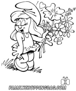 Smurfs Color Page 3