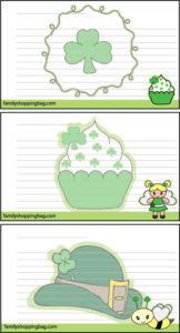 St Pats Recipe Cards