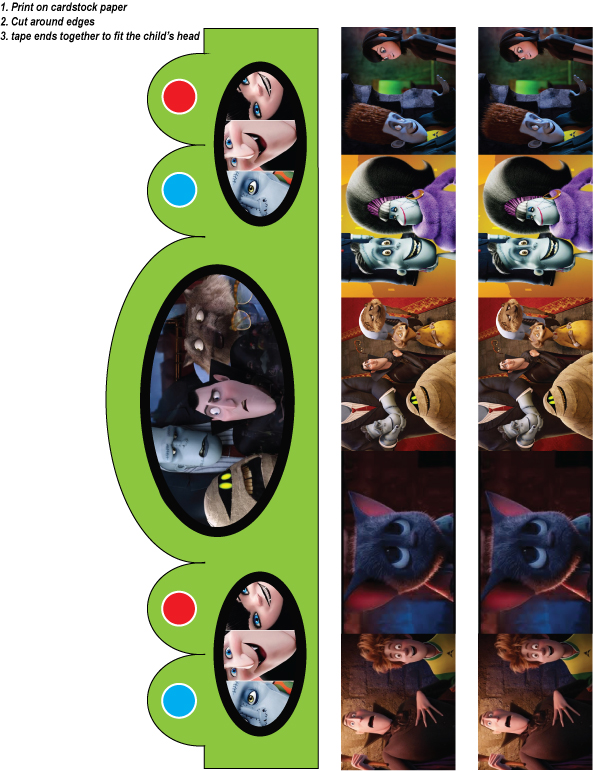 Party hat hotel transylvania for Hotel transylvania 2 decorations
