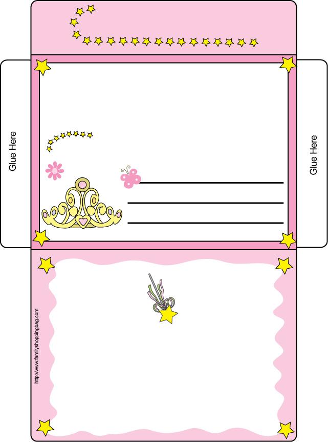 Шаблоны для открыток для детей 24