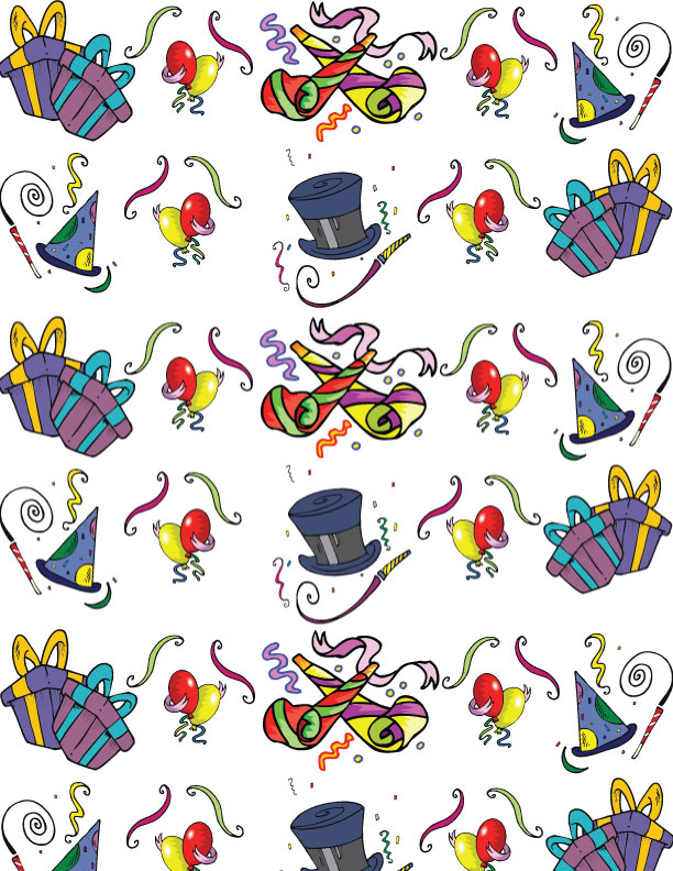 Printable Birthday Wrapping Paper Free ~ Birthday wrapping paper g