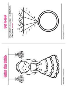 Wedding Activity Book B