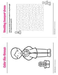 Wedding Activity Book C
